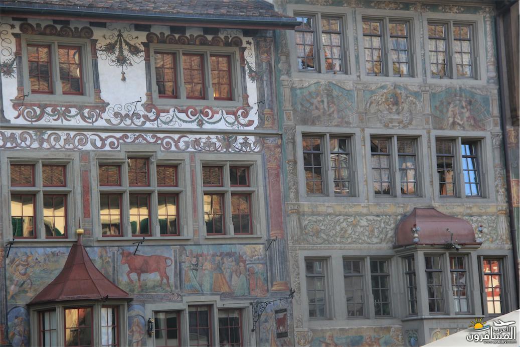 سويسرا بيوت ملوّنة و جداريات-544032