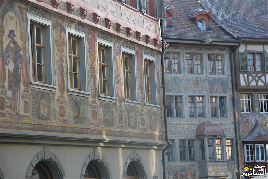 سويسرا بيوت ملوّنة و جداريات-544033