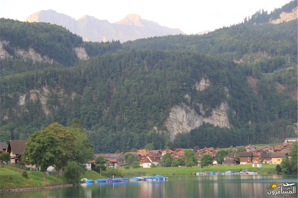 سويسرا بيوت ملوّنة و جداريات-544062