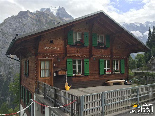 سويسرا بيوت ملوّنة و جداريات-544070