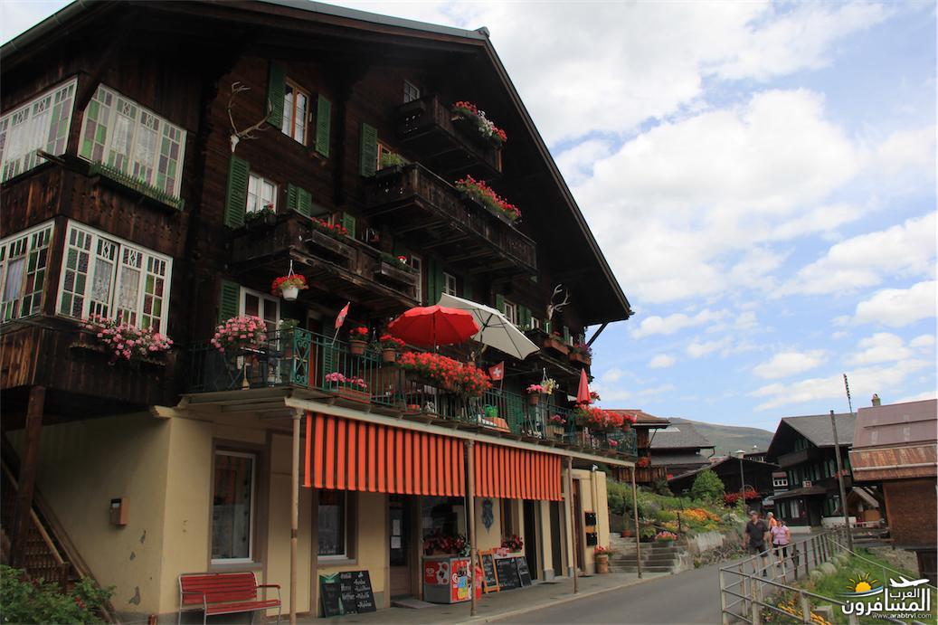 سويسرا بيوت ملوّنة و جداريات-544079