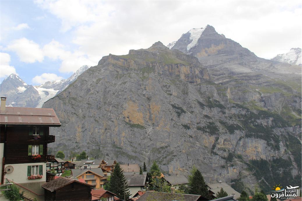سويسرا بيوت ملوّنة و جداريات-544080