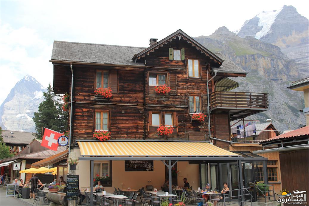 سويسرا بيوت ملوّنة و جداريات-544082