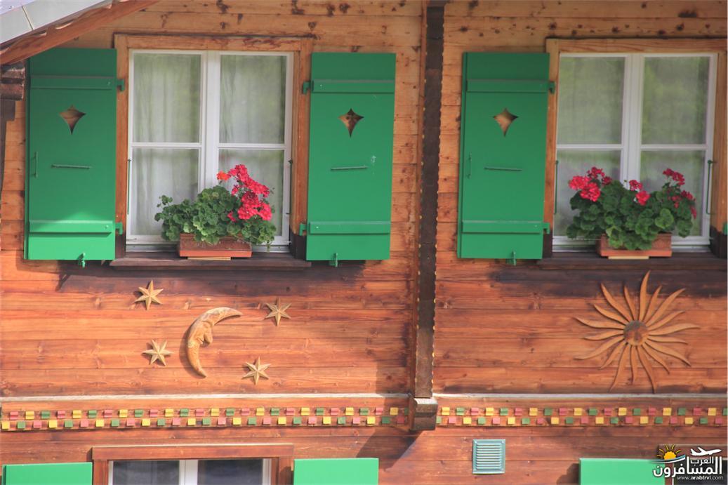سويسرا بيوت ملوّنة و جداريات-544100