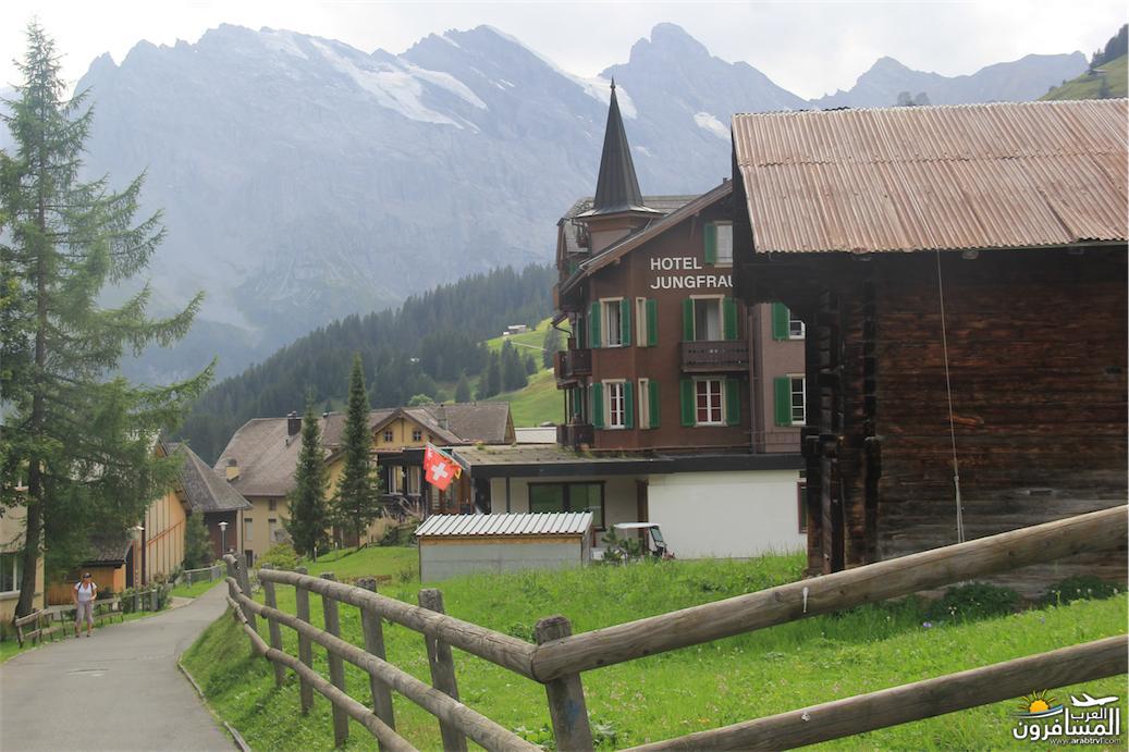 سويسرا بيوت ملوّنة و جداريات-544102