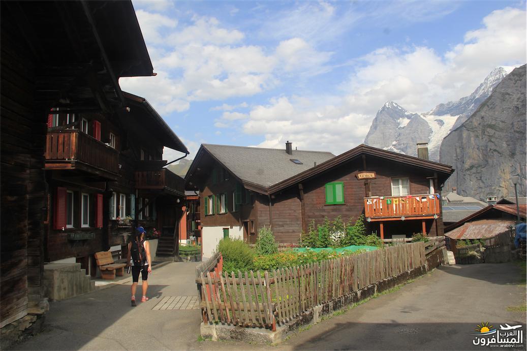 سويسرا بيوت ملوّنة و جداريات-544106