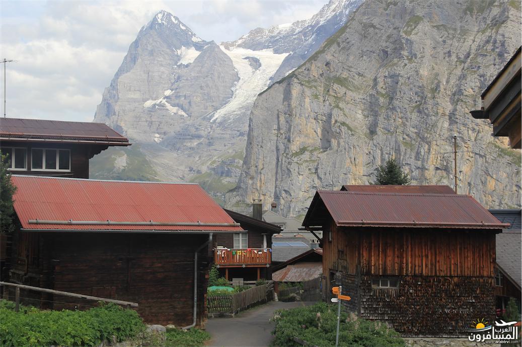 سويسرا بيوت ملوّنة و جداريات-544107