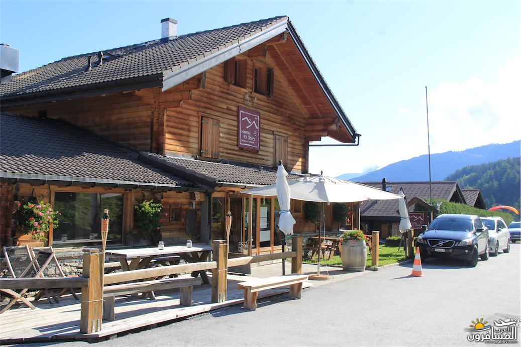 سويسرا بيوت ملوّنة و جداريات-544130