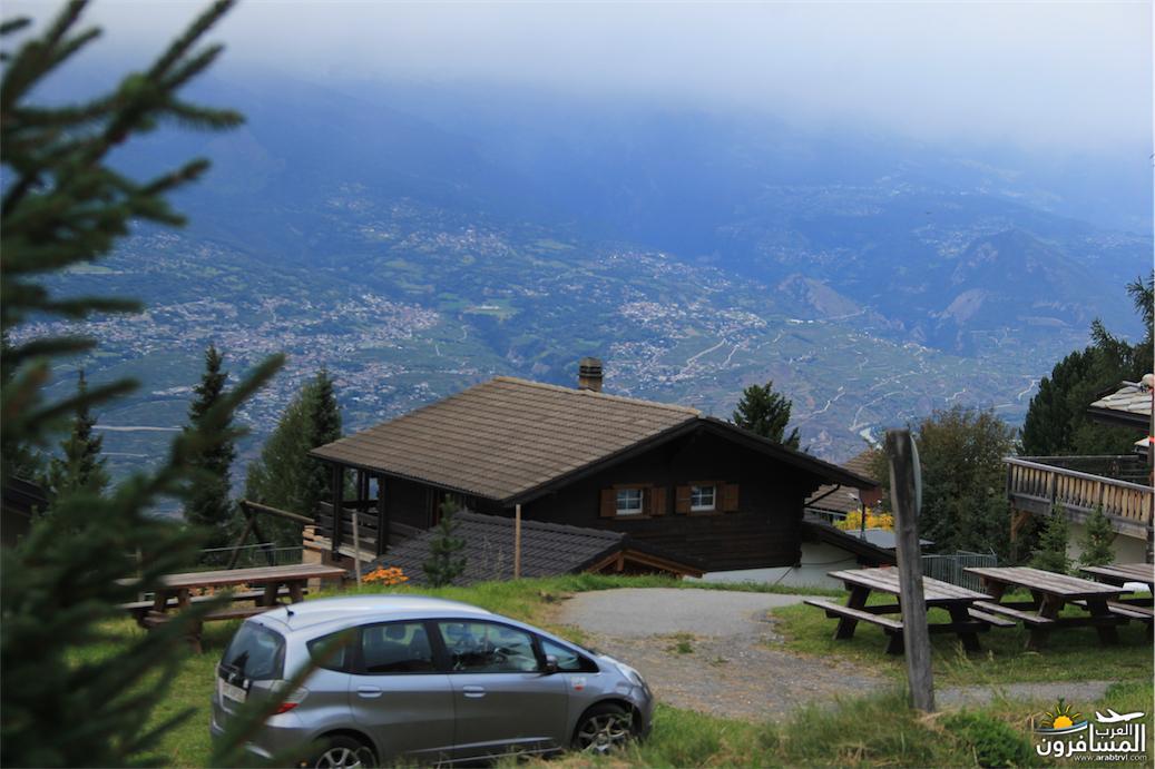 سويسرا بيوت ملوّنة و جداريات-544131