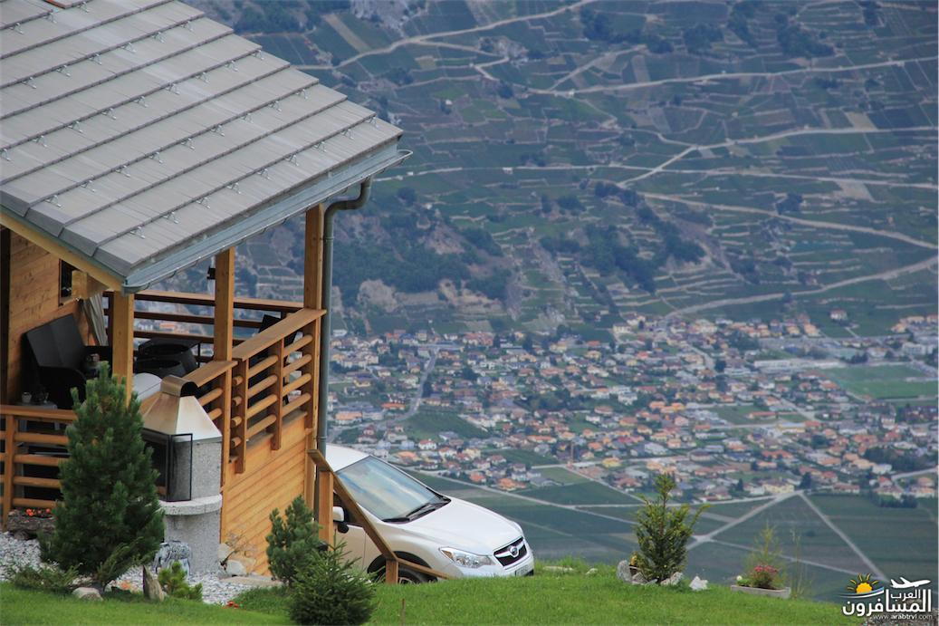 سويسرا بيوت ملوّنة و جداريات-544135