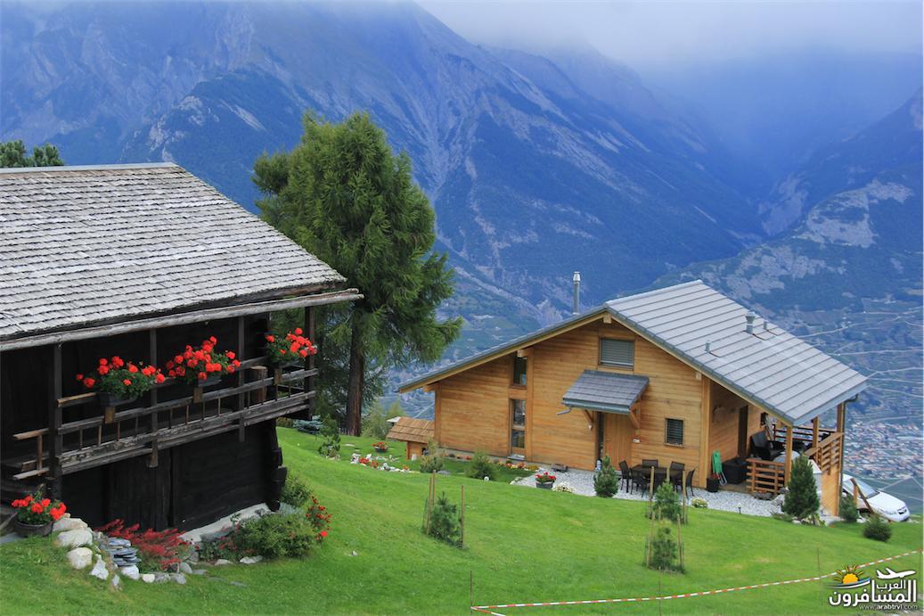 سويسرا بيوت ملوّنة و جداريات-544136