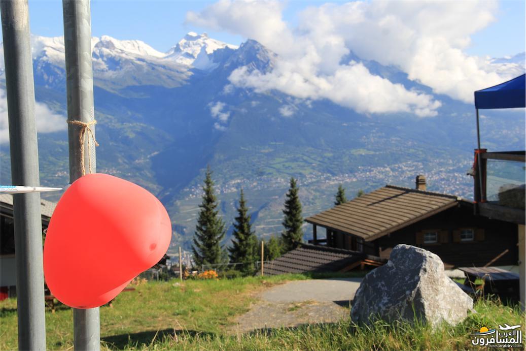 سويسرا بيوت ملوّنة و جداريات-544142