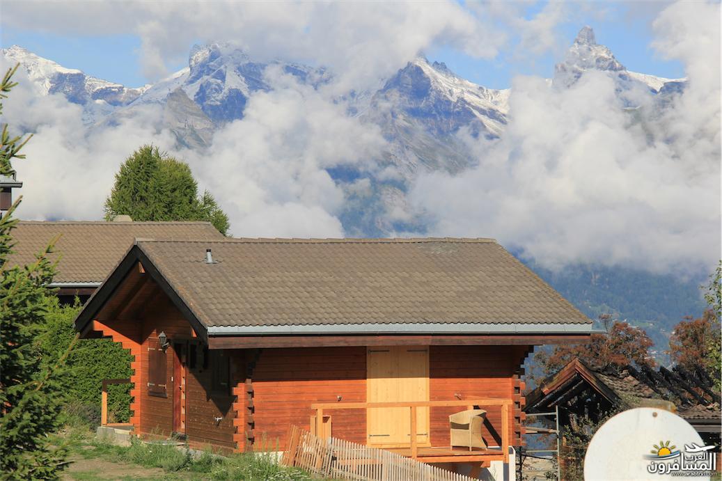سويسرا بيوت ملوّنة و جداريات-544145