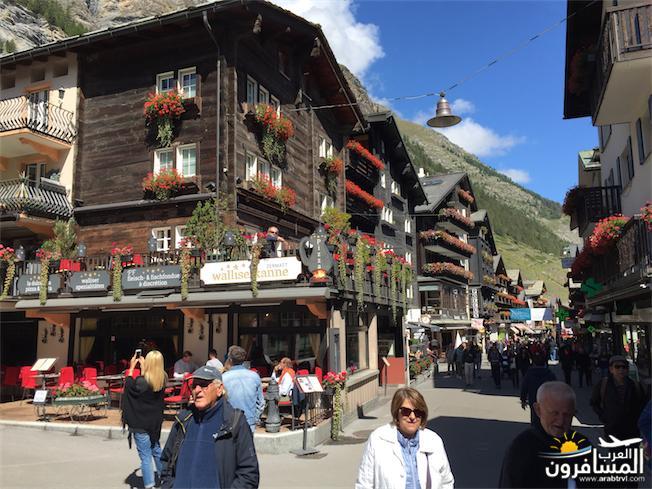 سويسرا بيوت ملوّنة و جداريات-544149