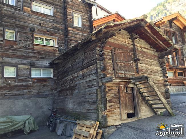 سويسرا بيوت ملوّنة و جداريات-544153