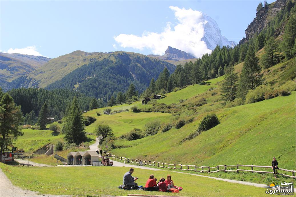 سويسرا بيوت ملوّنة و جداريات-544167