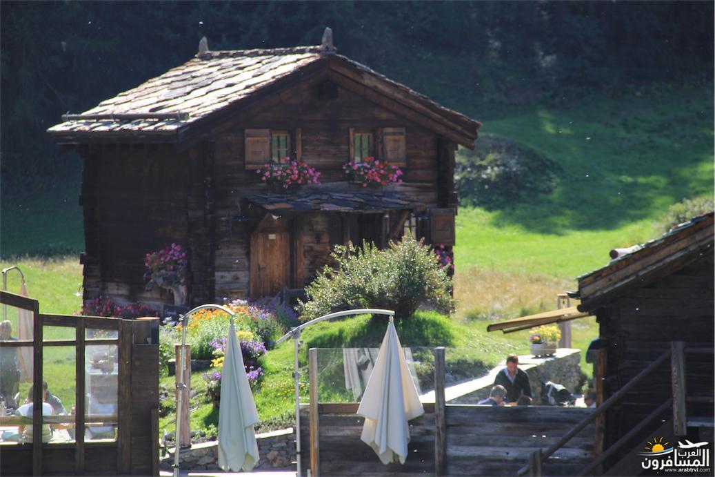 سويسرا بيوت ملوّنة و جداريات-544173
