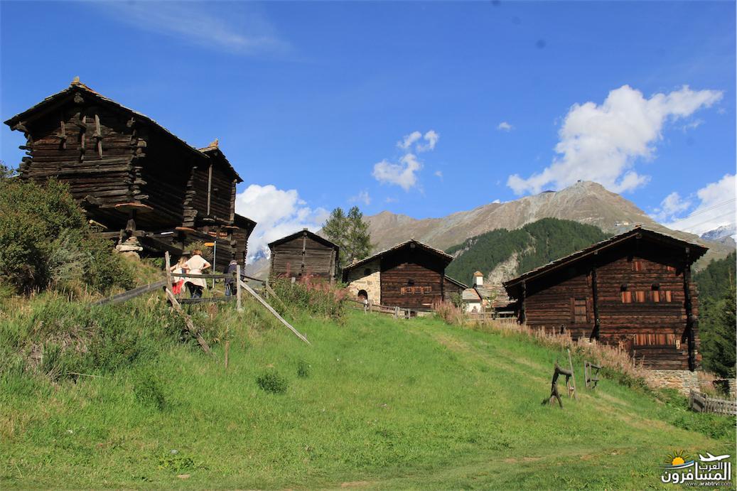 سويسرا بيوت ملوّنة و جداريات-544175
