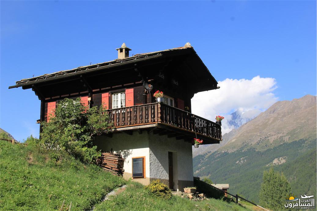 سويسرا بيوت ملوّنة و جداريات-544181