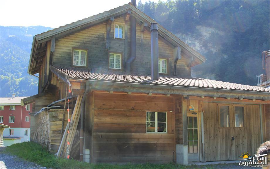 سويسرا بيوت ملوّنة و جداريات-544209