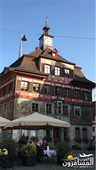 سويسرا بيوت ملوّنة و جداريات-544225