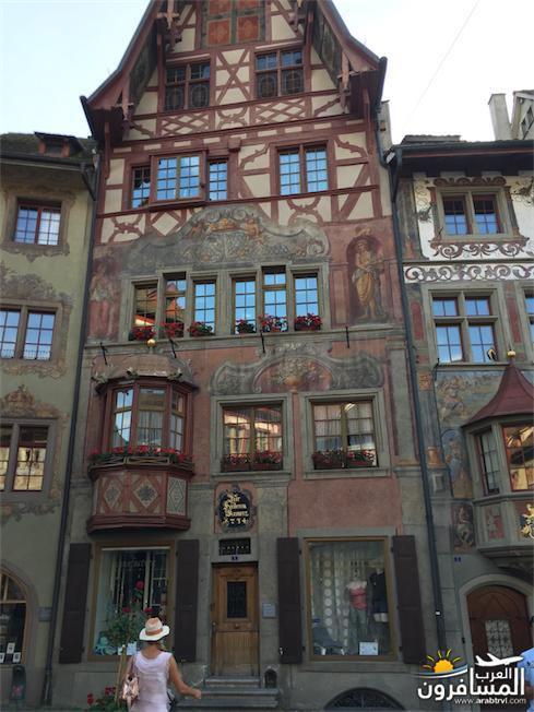 سويسرا بيوت ملوّنة و جداريات-544226