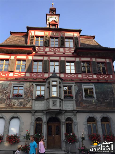 سويسرا بيوت ملوّنة و جداريات-544227