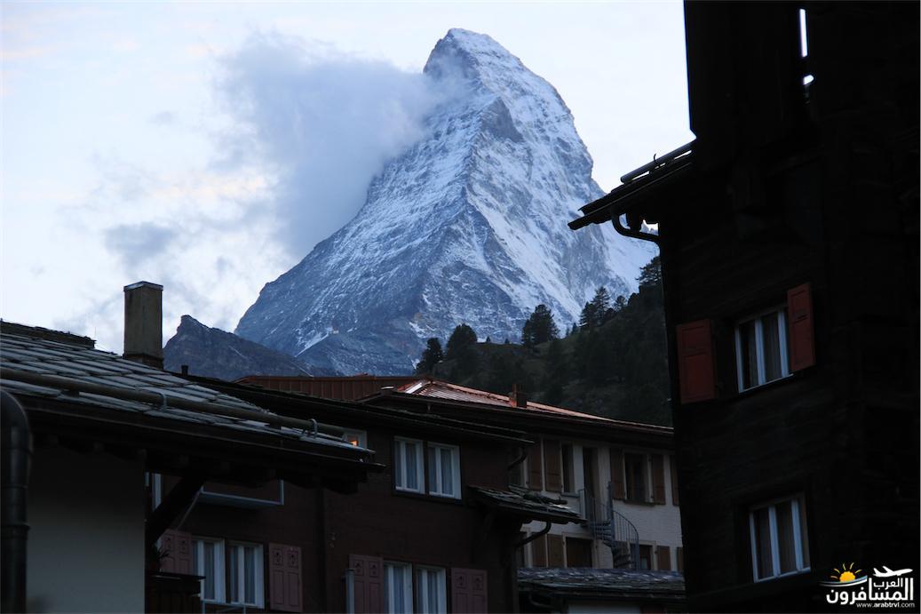سويسرا بيوت ملوّنة و جداريات-544240