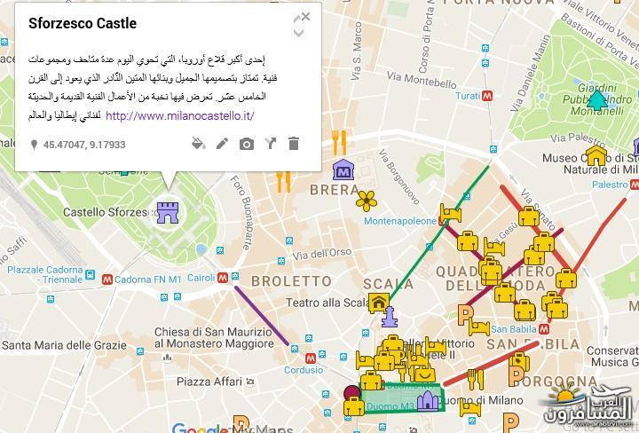 556266 المسافرون العرب خريطة ايطاليا السياحية