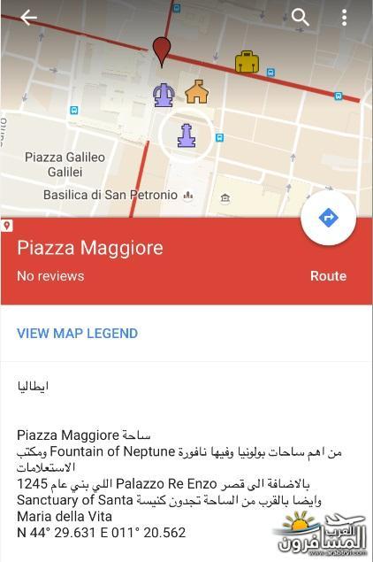 556284 المسافرون العرب خريطة ايطاليا السياحية