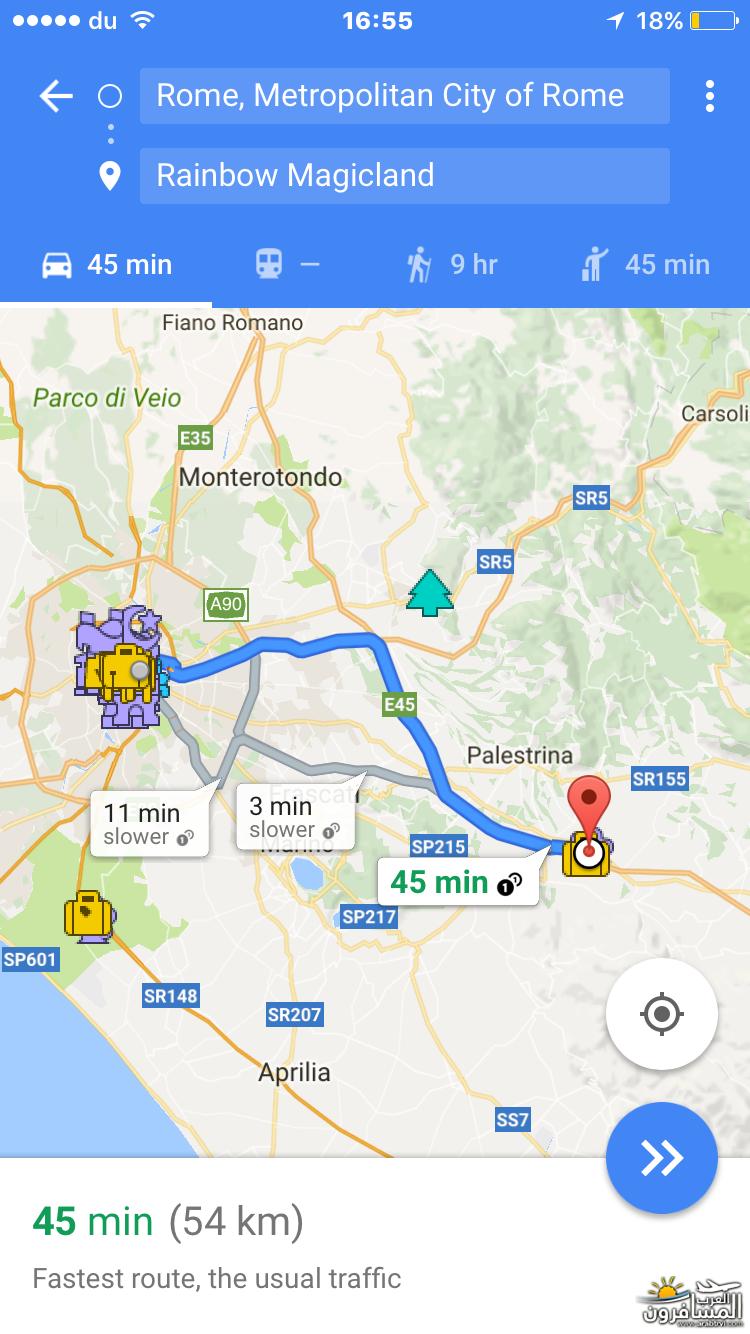 556290 المسافرون العرب خريطة ايطاليا السياحية