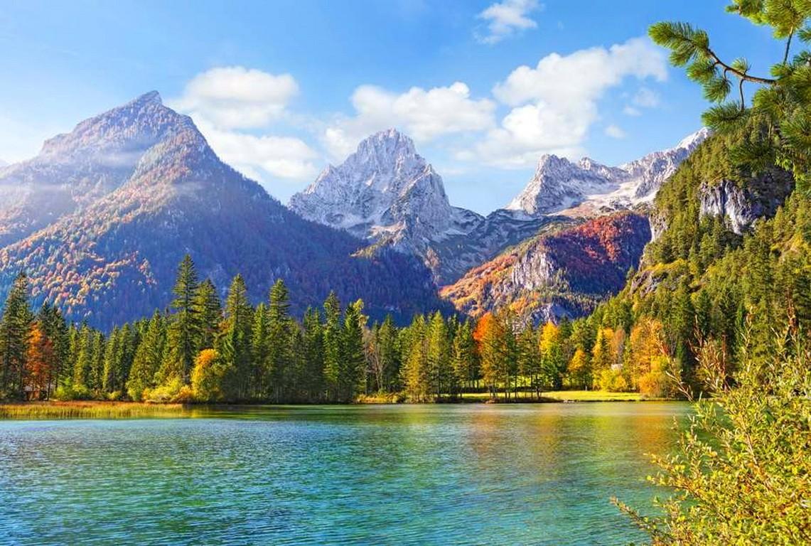 -shore-mountain-nature-reflection-trees-rocks-water-emerald-landscape-green-lake-peaks-sky-image.jpg