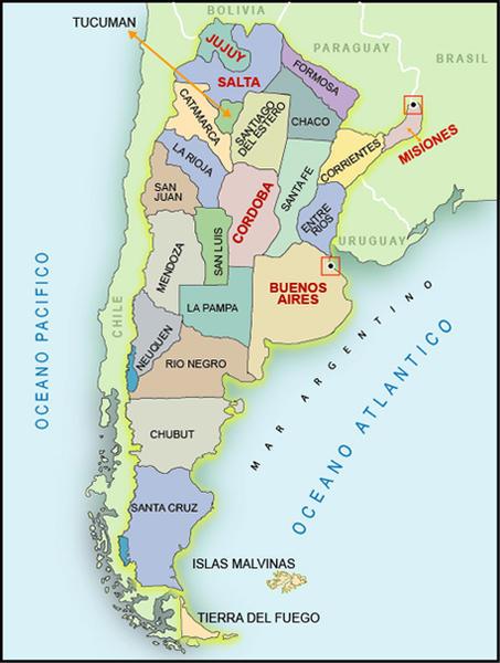 بلاد الفضة .. بلاد الشمس الباسمة الأرجنتين-602491