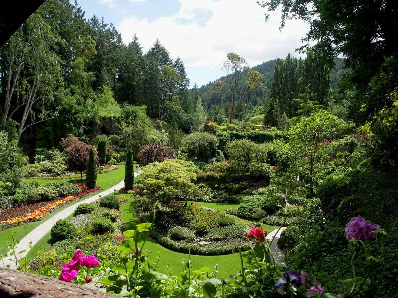حدائق بوتشارت الملونة في كندا-604261