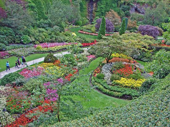 حدائق بوتشارت الملونة في كندا-604265