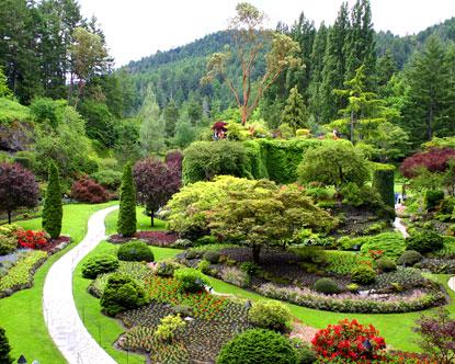 حدائق بوتشارت الملونة في كندا-604266
