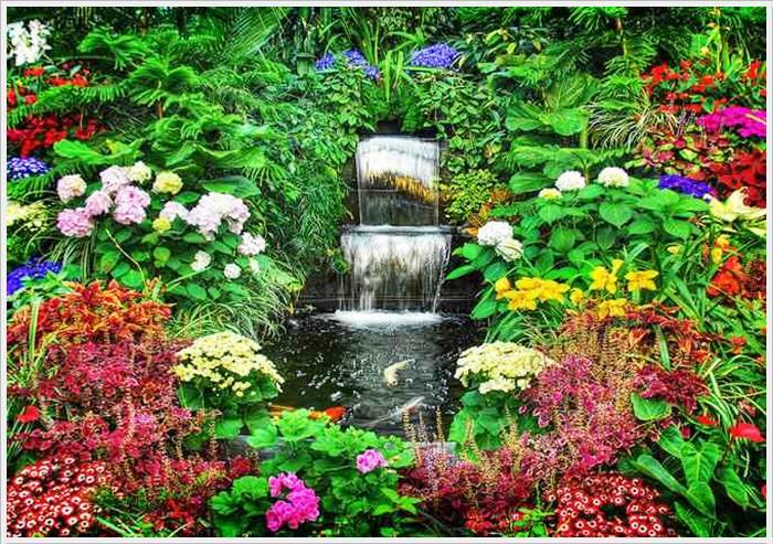 حدائق بوتشارت الملونة في كندا-604267