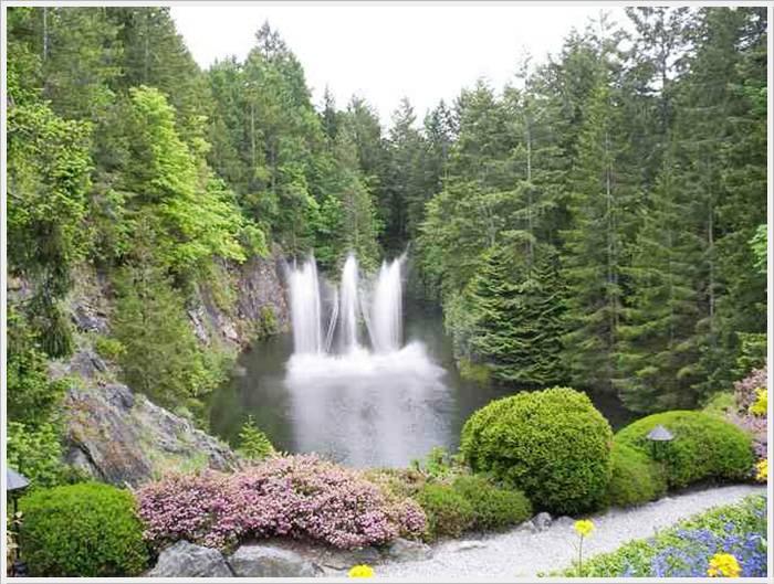 حدائق بوتشارت الملونة في كندا-604269