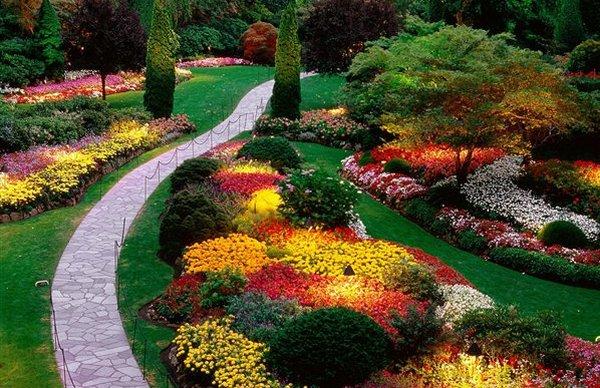 حدائق بوتشارت الملونة في كندا-604283
