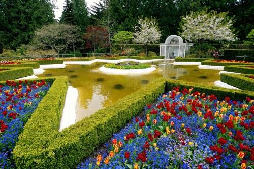 حدائق بوتشارت الملونة في كندا-604284