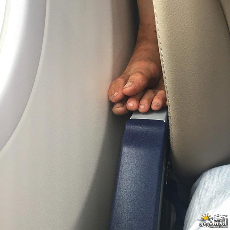 """687643 المسافرون العرب """"اغسلوا أقدامكم"""" قبل صعودكم للطائرة وإلا فالغرامة بانتظاركم!"""