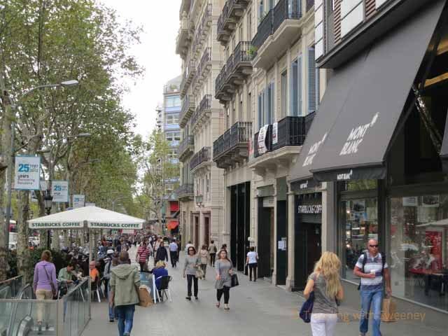 704044 المسافرون العرب مقتطفات سعودي عن السياحة في برشلونة .