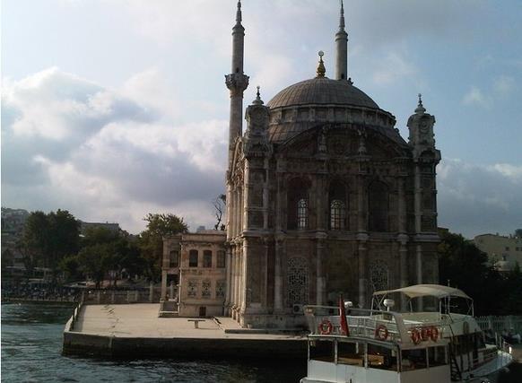 73413 المسافرون العرب مسجد أورتاكوي فى اسطنبول