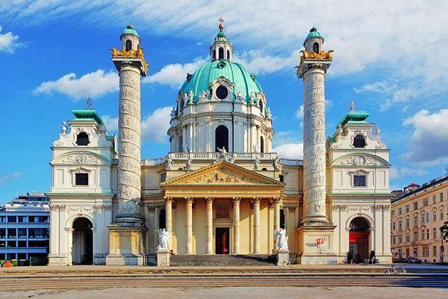 80398 المسافرون العرب كنيسة القديس تشارلز في مدينة فيينا