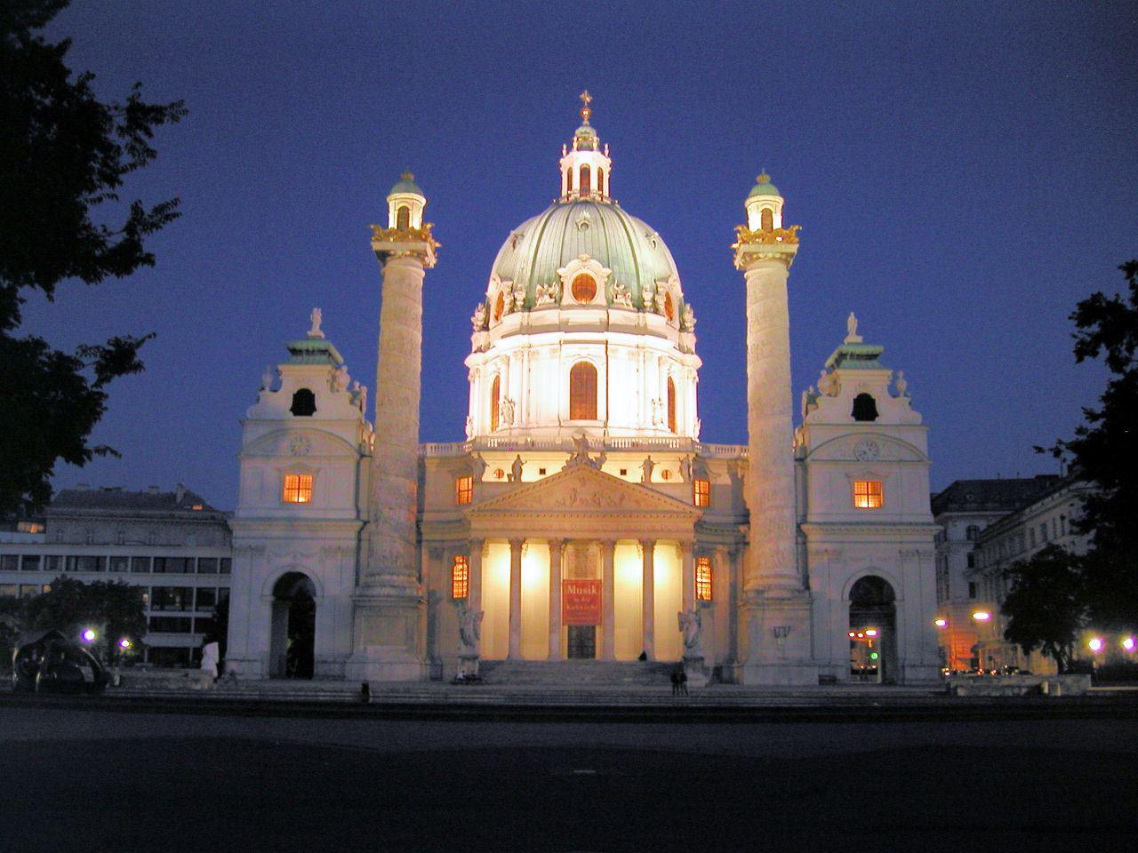 80399 المسافرون العرب كنيسة القديس تشارلز في مدينة فيينا
