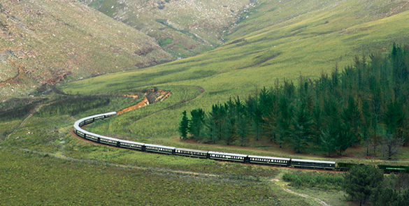 رحلات سفاري حول جنوب إفريقيا عن طريق ( قطارات روفوس) رحلة ممتعة 2014