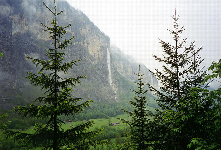 صور شلالات تروميل باخ Trummelbach Falls , شلال ستوباخ waterfall Staubach فى سويسرا