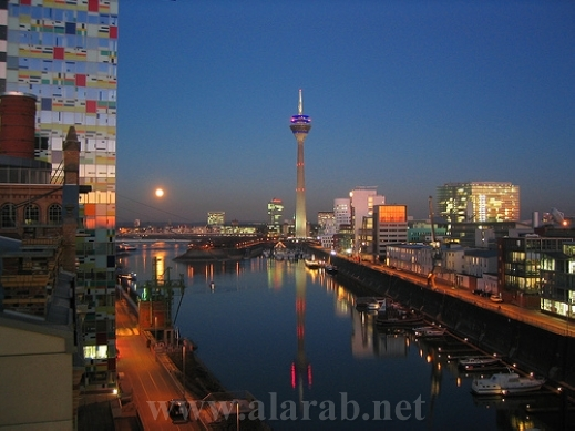 تقرير مصور عن مدينة دوسلدورف , السياحة فى المانيا