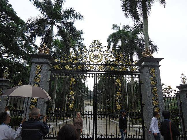 زيارة الى القصر الملكى كوالالمبور
