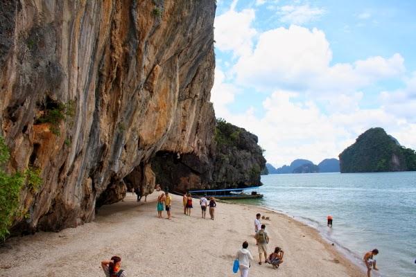 جولة سياحيه الى جزيرة كاوفينغ كان في تايلاند